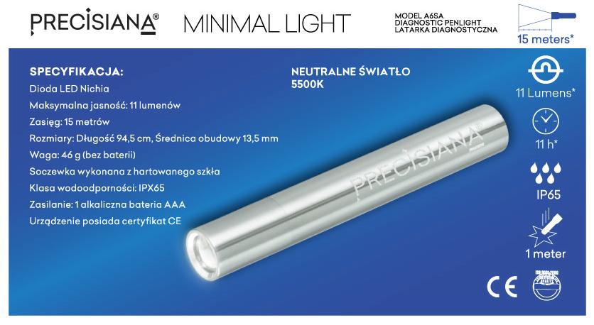 PRECISIANA MINIMAL LIGHT FEATURES