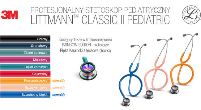 Profesjonalne stetoskopy Littmann Pediatric