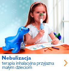 Nebulizacja - terapia inhalacyjna przyjazna małym dzieciom